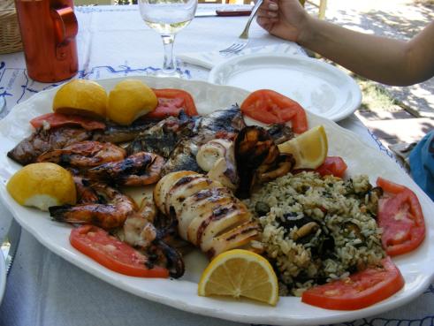 Taverna Thassos, Restaurant Thassos