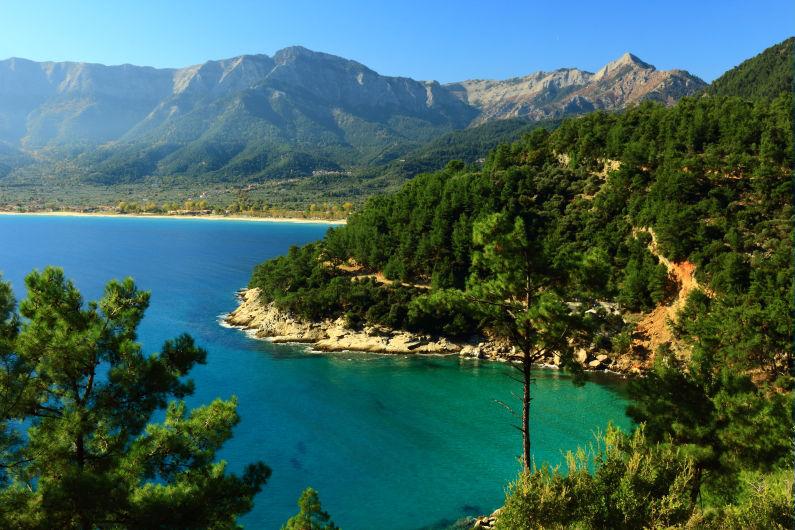 apus soare insula thassos grecia 2016
